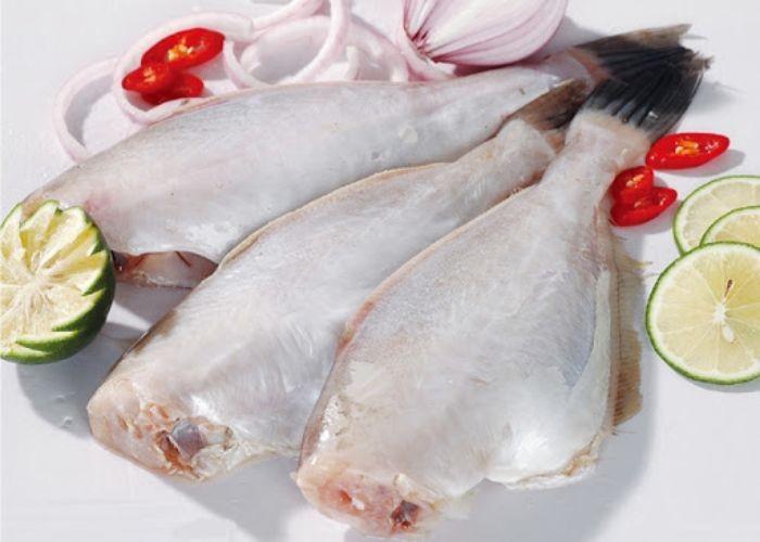 Thịt cá bò giấy đặc biệt rất trắng, hơi dai và sở hữu vị ngọt rất tự nhiên