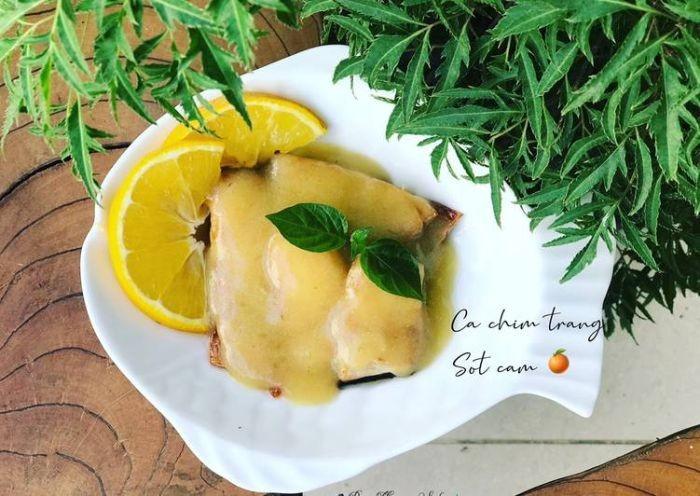 Cá chim phile sốt cam là món ăn phù hợp với mọi đối tượng sử dụng