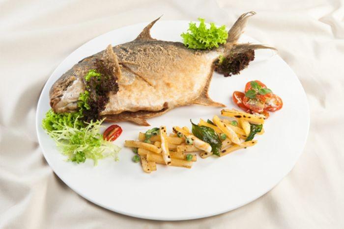 Cá chim chiên giòn - Món ăn đơn giản và rất dễ chế biến