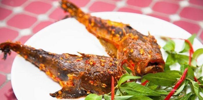 Cá mặt quỷ nướng muối ớt là món ăn thơm ngon, hấp dẫn