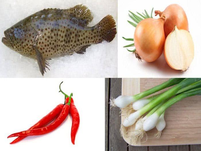 Cá mú hấp xì dầu - Món ăn đơn giản, dễ chế biến