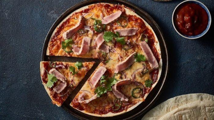 Món pizza cá ngừ