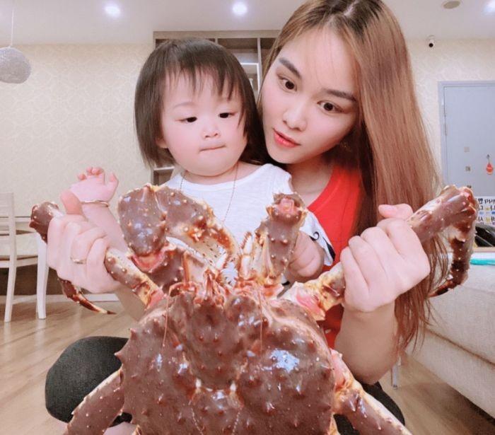 Trẻ em ăn bao nhiêu cua hoàng đế Alaska – King Crab