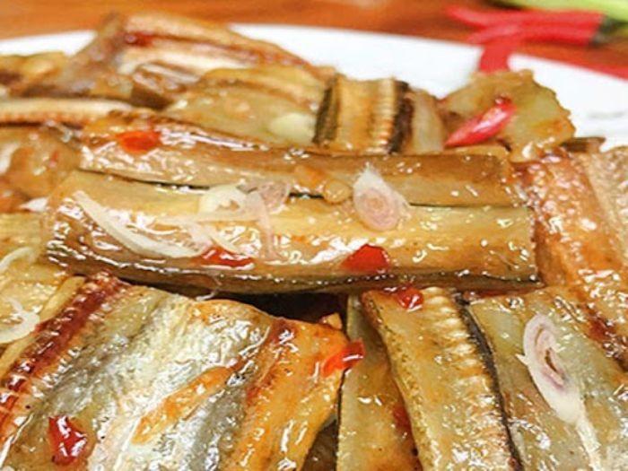Khô cá mối xào chua ngọt - Món ăn đưa cơm cho những ngày mưa