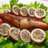 Đầy đủ chất dinh dưỡng cho bữa ăn với món mực ống nhồi thịt chiên