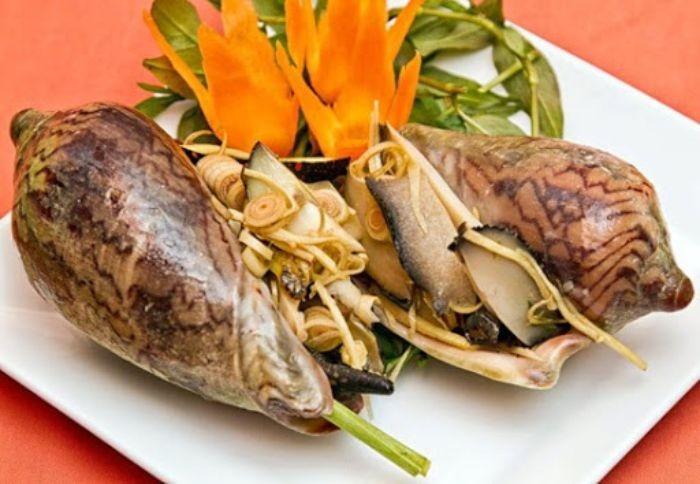 Những món ăn ngon từ ốc giác voi sẽ cho bạn một bữa cơm ngon lành và chất lượng
