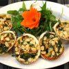 Hương vị thơm ngon khó cưỡng của món sò nướng mỡ hành
