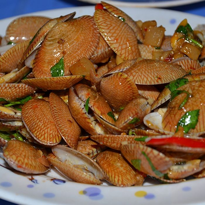 Sò lụa có thể chế biến thành nhiều món ăn thơm ngon, hấp dẫn