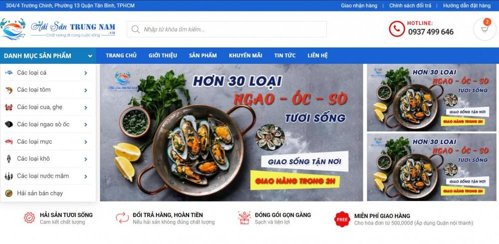 Hải sản Trung Nam là cửa hàng bán tôm hùm uy tín
