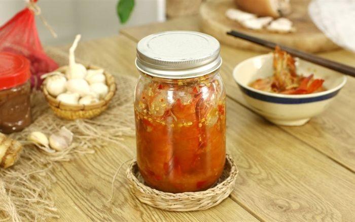 Mắm tôm chua Bình Định nổi tiếng về độ thơm ngon