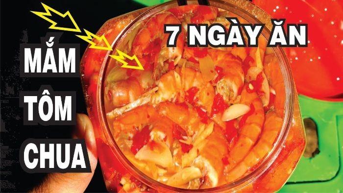 Mắm tôm chua miền nam có thể ăn kèm với nhiều món khác nhau