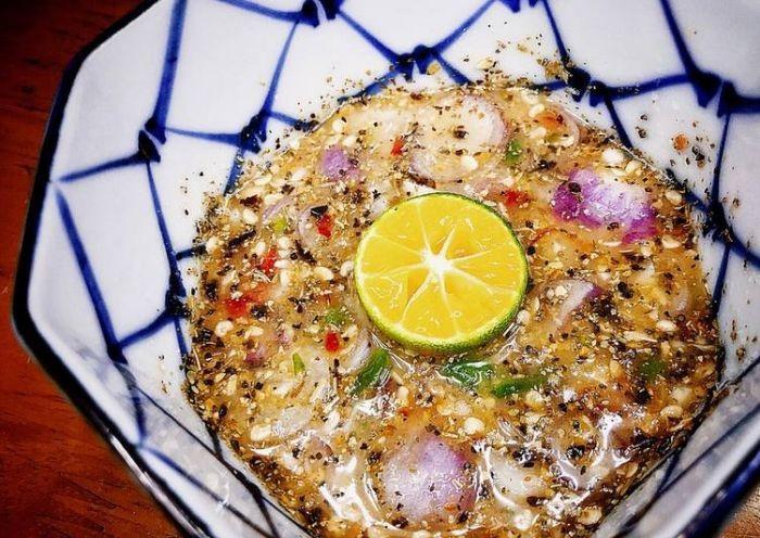 Sốt muối tắc - 1 trong 6 cách làm nước sốt chấm cua King Crab ngon nhất