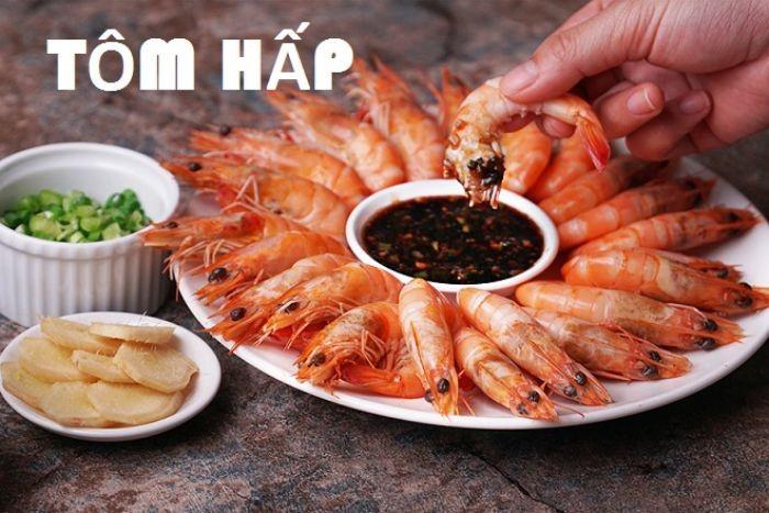 Tôm là loại hải sản có giá trị dinh dưỡng cao