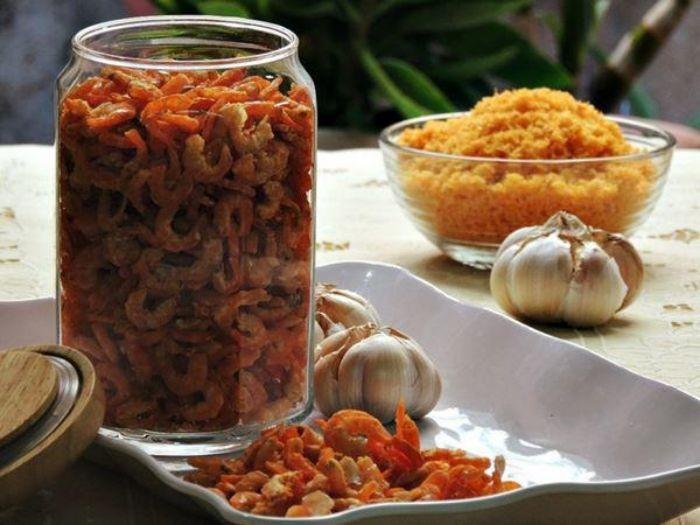 Tôm khô của Hải Sản Trung Nam được chế biến từ những chú tôm tươi sống, đảm bảo chất lượng
