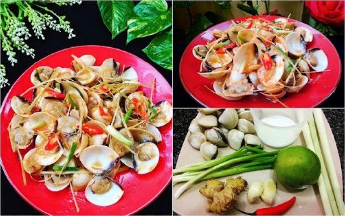 Nguyên liệu cần chuẩn bị để chế biến món ăn thơm ngon, hấp dẫn từ ngao biển
