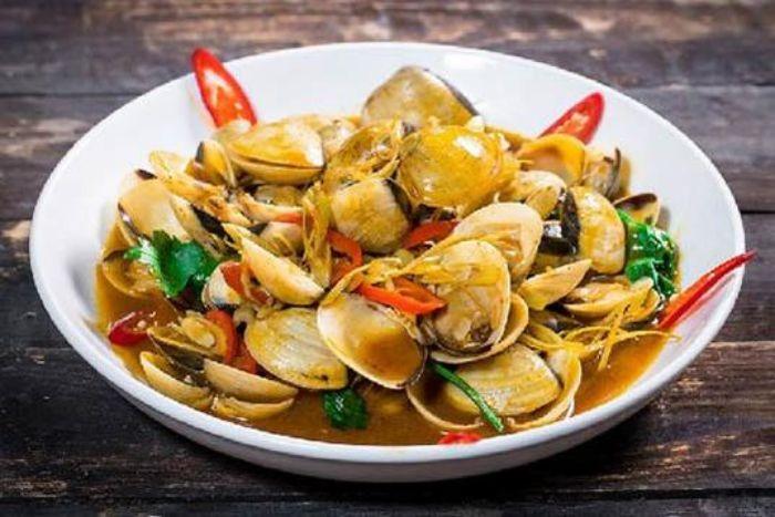 Ngao xào kiểu Thái - Món ăn thơm ngon, hấp dẫn, dễ chế biến được rất nhiều người yêu thích hiện nay