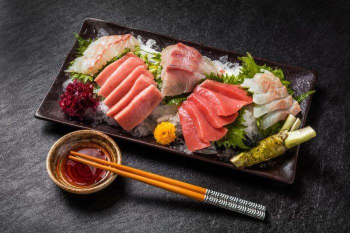 Sashimi được biết đến là một món khai vị vô cùng nổi tiếng