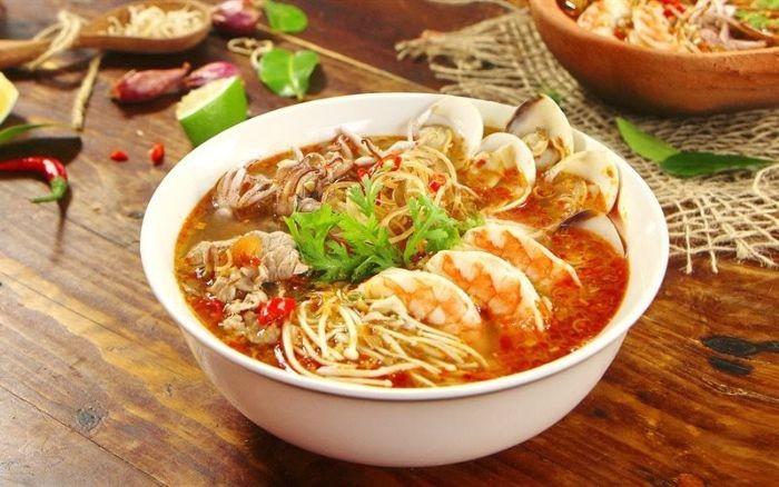 Cach Nau Bun Hai San Ngon Tai Nha 2