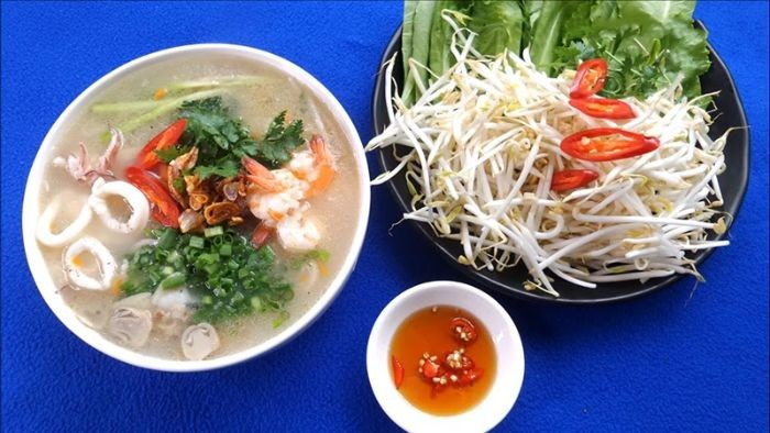 Cach Nau Chao Hai San 2