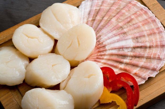 Cồi sò điệp Canada là phần thịt được tách ra từ vỏ của những con sò điệp