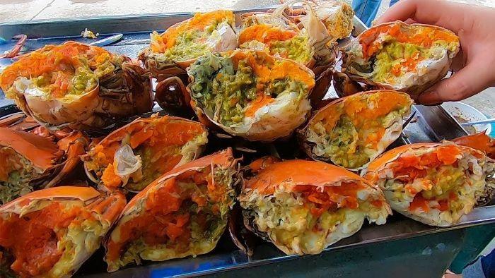 Cua gạch Cà Mau là loại thực phẩm chứa ít chất béo nhưng lại giàu hàm lượng protein