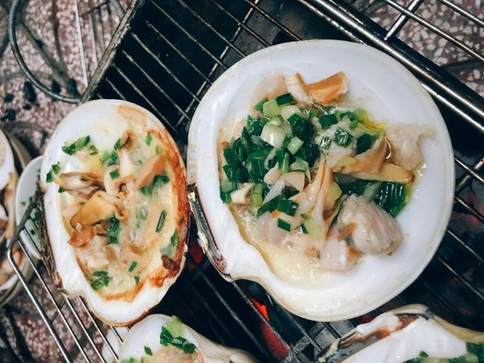 Các món ăn chế biến từ sò bơ