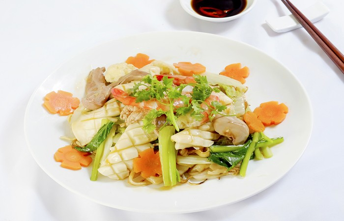 Cach Lam Hu Tieu Xao Hai San