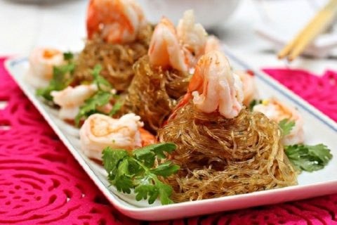 Cach Lam Mien Xao Hai San Thom Ngon