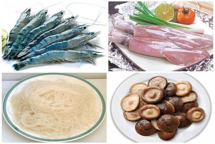 Cùng xem cách làm miến xào hải sản thơm ngon nhé